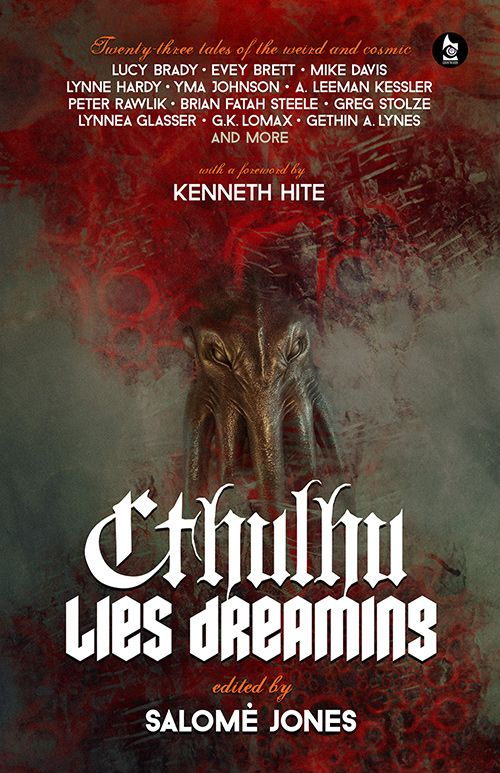 Book Cover for Cthulhu Lies Dreaming by gaborcsigas