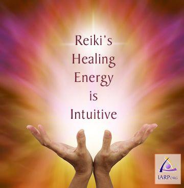 Reiki Léčení energie je Intuitivní