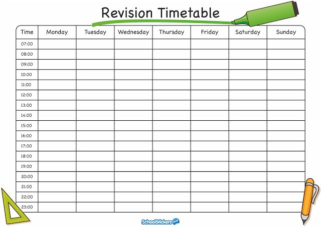 Best Timetable Templates For School Images On   Budget