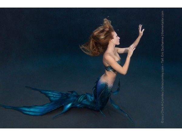 Performance Silicone Mermaid Tail.