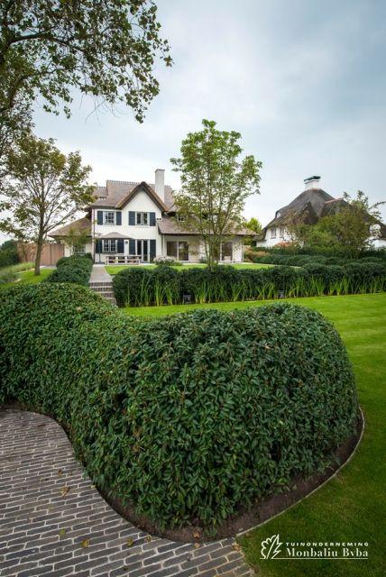 65 geselecteerde idee n over tuin door sofiedefraeye tuinen zwembad huizen en tuin - Hoe aangelegde tuin ...