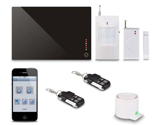 Wholesale Home Burglar Alarm Systems Gsm - GSM HOME ALARM SYSTEM,support quad band GSM 900/1800/850/1900MHz
