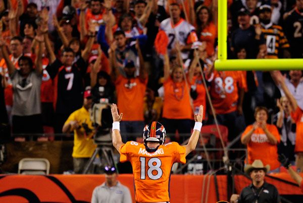 Peyton Manning leads Denver Broncos to strong first win over Steelers - The Denver Post