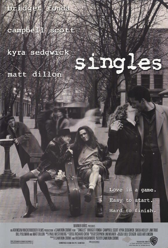 """Singles"" (1992). DIRECTOR: Cameron Crowe.  Tim Burton was a cast member!"
