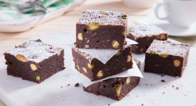 These tasty brownies are sure to be a crowd pleaser.  #favourite #cooking #recipe
