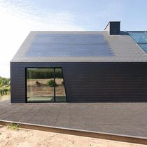 Best 25 stone cladding ideas on pinterest stone for Fiber cement composite roofing slate style