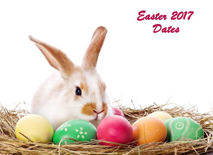 2017 Dates for Easter Sunday, Monday and Good Friday