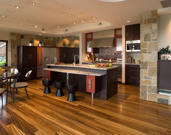 dark wood kitchen cabinets hardwood floor kenwood kitchens in lutherville maryland