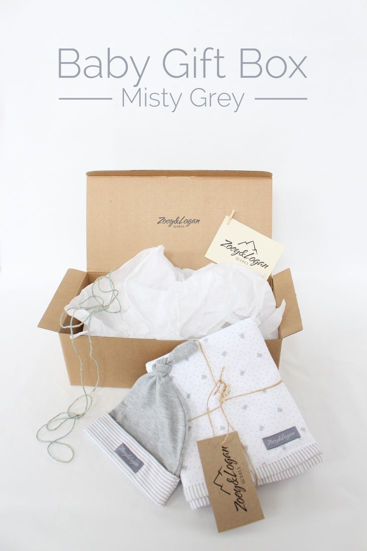 Best 25 baby gift box ideas on pinterest baby shower gifts zoeyandlogan baby gift box misty grey this is the perfect baby gift bundle negle