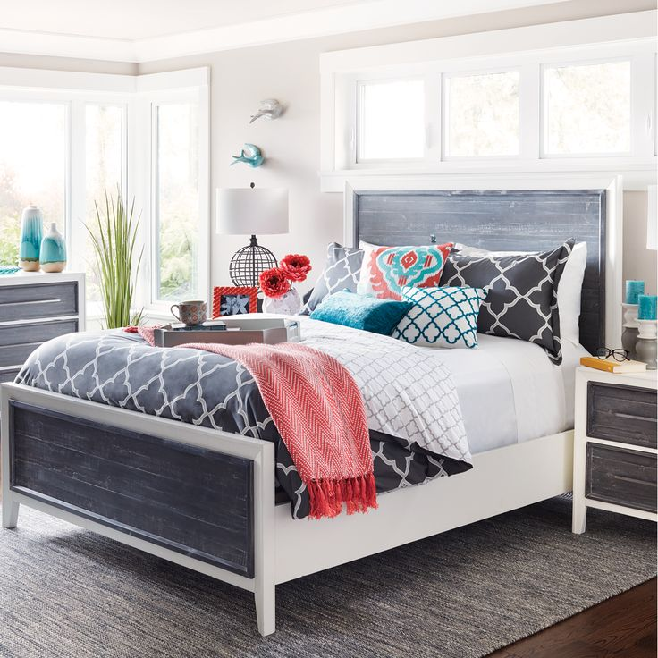 Need some inspiration for your bedroom? The new Spring collection is full of new duvet covers, bed sheets, pillows, lamps, and bedroom decor.