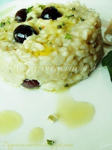 ©Oggi vi cucino così!: Risotto con Crema di Carciofi e Robiola©.