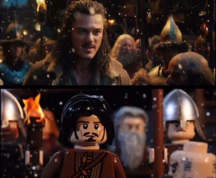 Amazing Stop Motion Lego Hobbit Trailer
