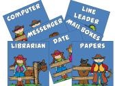 Western Theme Classroom Pack product from the-TEACHER-in-ME on TeachersNotebook.com