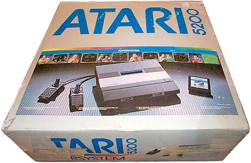 The (boxed) Atari 5200