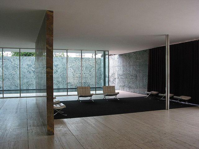 Mies van der Rohe, German Exhibit Pavilion, Barcelona