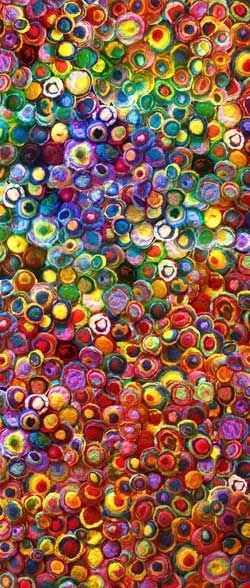 felt circles