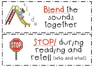 First Grade Fanatic!: Daily Five - Strategy Reading Cards for CAFE