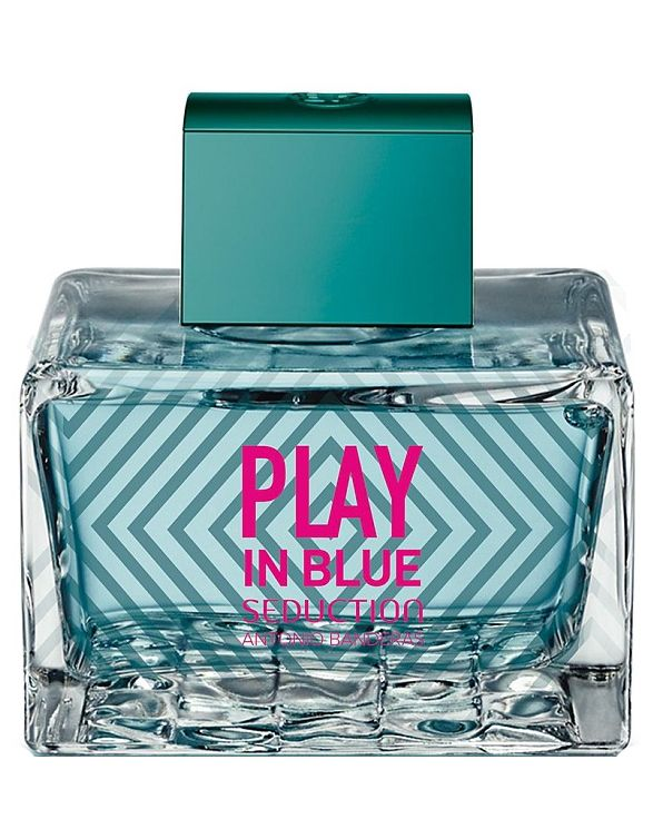 Play In Blue Seduction For Women Antonio Banderas perfume - a new fragrance for women 2017