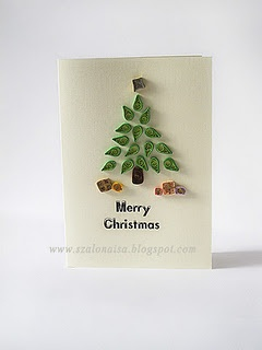 Another great quilled Christmas tree.