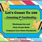 This math books covers every standard in the Counting and Cardinality domain for Kindergarten math:    *CCSS.Math.Content.K.CC.A.1  *CCSS.Math.Conten...