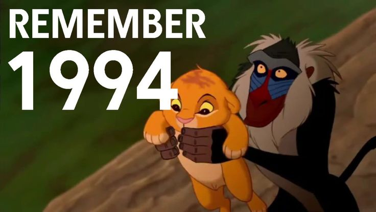 A Nostalgic Pop Culture Trip to the Year 1994  - Yikes.