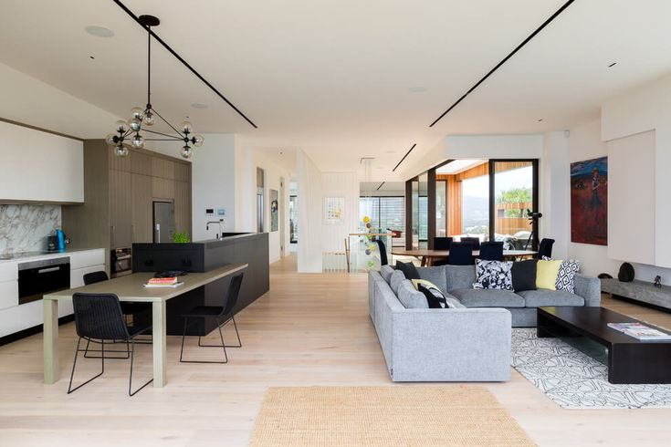 Interiors for grey Architecture wolf Ergo Warriewood House      sale by