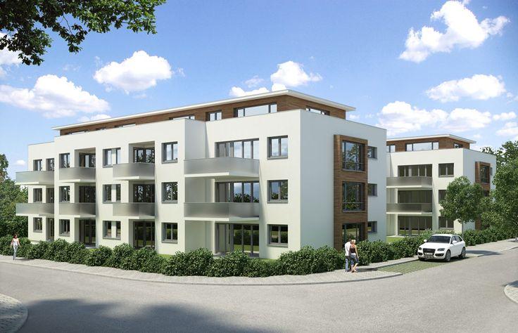 Köhlgartenring 42-44: Neubau von 28 Eigentumswohnungen - Foto: Koch Wohnbau
