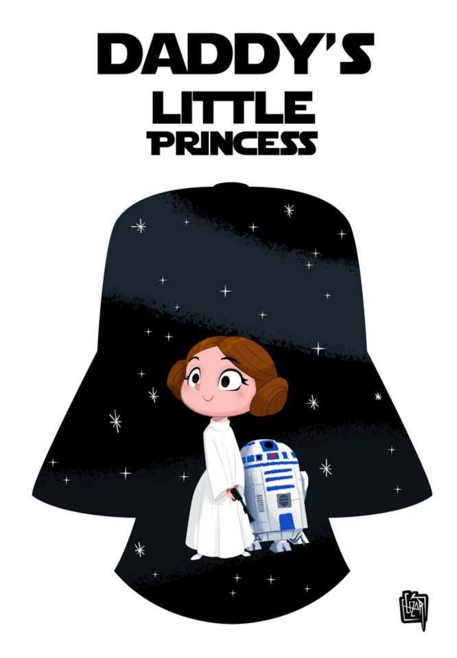 Baby Leia by cesarvs on DeviantArt Rey Star Wars, Star Wars Baby, Star Wars Fan Art, Star Wars Room, Star Wars Kylo Ren, Star Wars Zimmer, Star Wars Zeichnungen, Princesa Leia, Star Wars Drawings