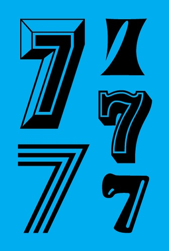 Nike Re-Run Panel: 7s by Scharwath, via Flickr