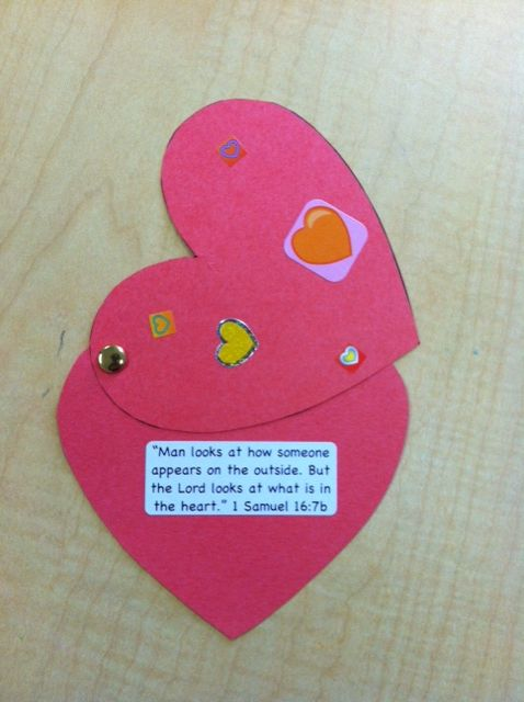 Over the next 6 weeks our preschoolers will be learning about how God is Protector as they hear about the life of David. 2 Samuel 22:2 is the memory verse for the next 6 weeks. This week your child will hear about David being anointed by Samuel and will create a heart with 1 Samuel 16:7 on the inside to remind them that God cares most about our heart! To see more of what your kids are doing in Tree House check out www.gracechurchkids.org
