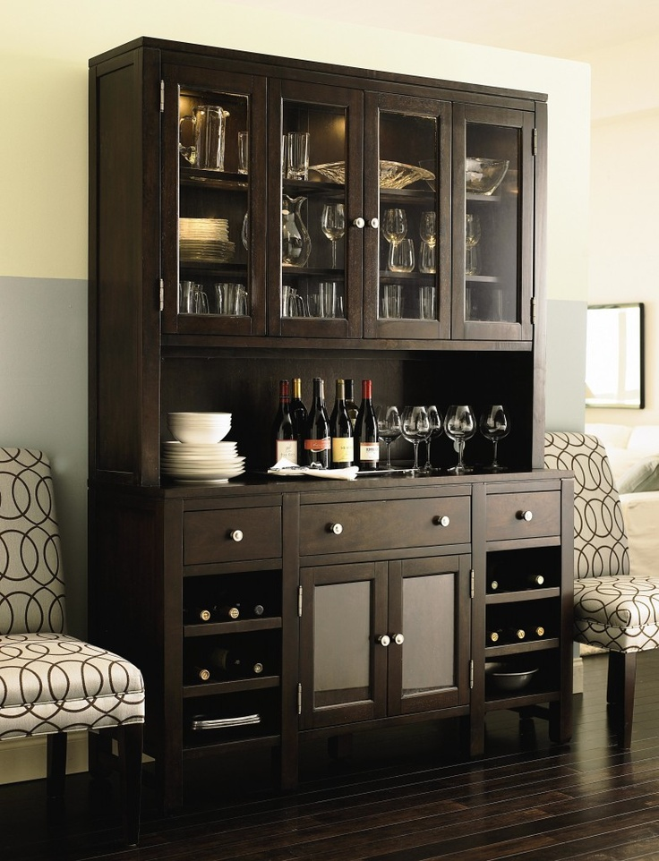 Modern China Cabinet Perfect For The Wine
