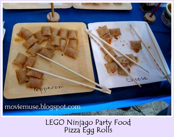 Lots of really great Ninjago party ideas - games, food, party favors, decorations, etc.