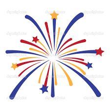 Image result for cartoon fireworks