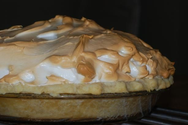 """Blue Ribbon Mile High Lemon Meringue Pie from Food.com: I am a """"LMP"""" fiend. The secret to a spectacular never-fail LMP is using 6 eggs. Once I made this version by Harriett Westman from """"Blue Ribbon Winners: America's Best State Fair Recipes"""", this became my signature dessert. I adjust my portion size to the number of WW points left for the day; I calculate 1/8 of a pie as 10 points. Please allow 4 hours for cooling before serving. With 6 egg yolks, this is indeed a rich Southern custard…"""