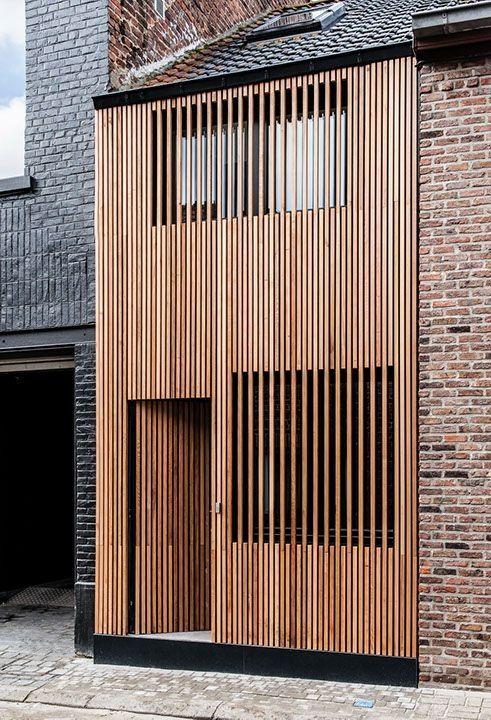 onsomething:  Sito Architecten | Town House, 2014 Ninove.