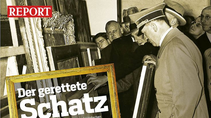 !,500 works of art that had been stolen by the Nazis were found in a Munich apartment in spring 2011. Story published yesterday- what's the delay?