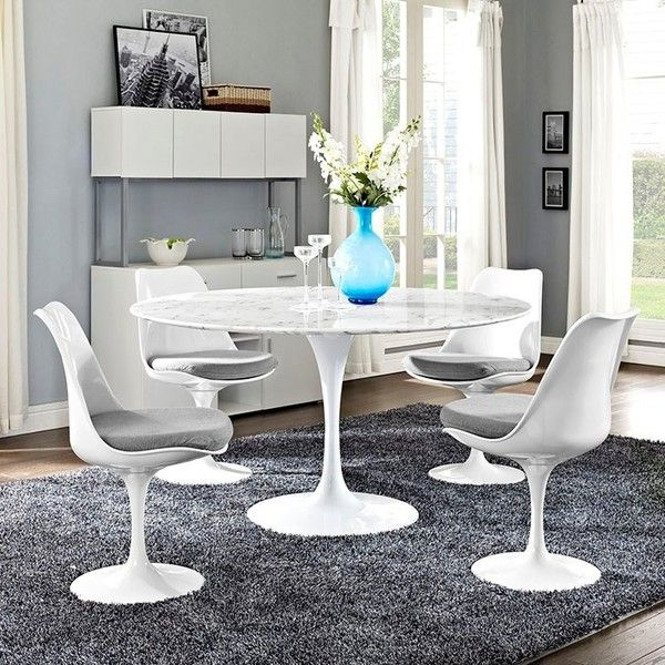 White Dining Room Table Modern best 25+ faux marble dining table ideas on pinterest | refurbished