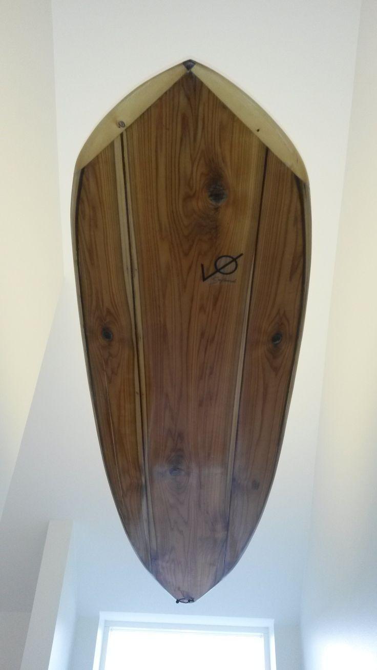 Surfboard lamp