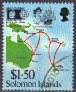 Solomon Airlines international routes
