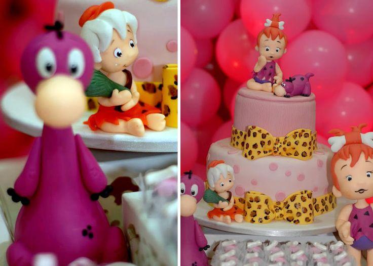 pebbles flintstone birthday party 14