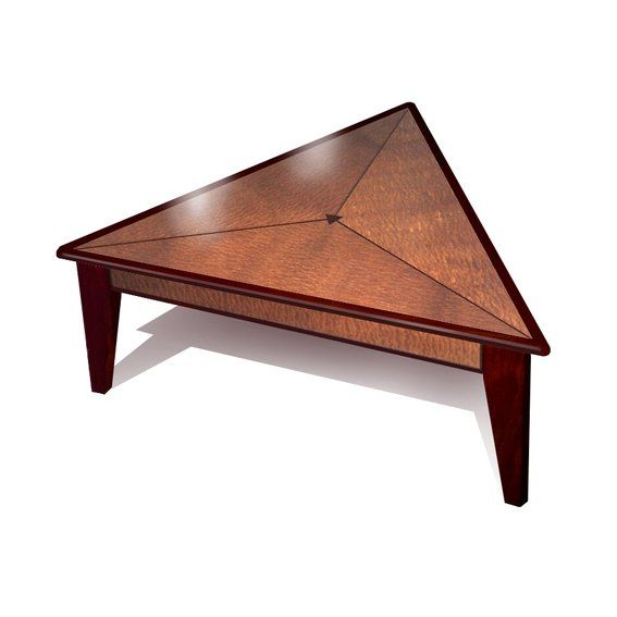 Hand Crafted Triangle Coffee Table by Mark Love Furniture | CustomMade.com - 25+ Best Ideas About Triangle Coffee Table On Pinterest Oak
