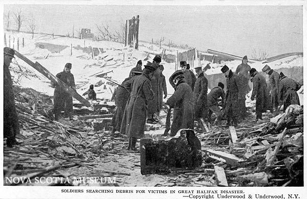 95th anniversary of the Halifax Explosion in 1917. Both grandparents survived, although my grandfather was injured when the school he was working in collapsed in the explosion. Followed the next day by a major snowstorm.