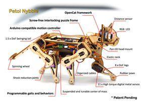 Build your own robotic cat: Petoi returns