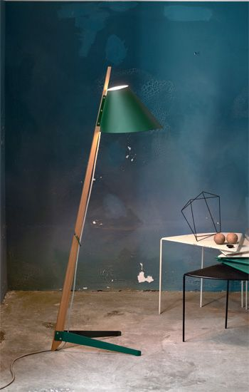 Billy bl floor lamp billy proves that utilitarian design the honest construction of simple materials