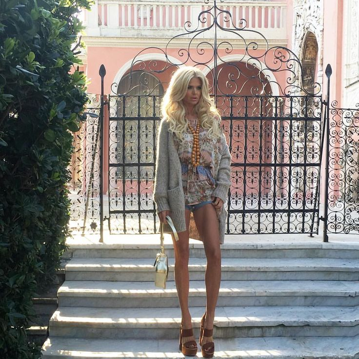 """Victoria Silvstedt Official on Instagram: """"Early morning shoot on location in Cap Ferrat Hair and make-up by @noraoun"""""""