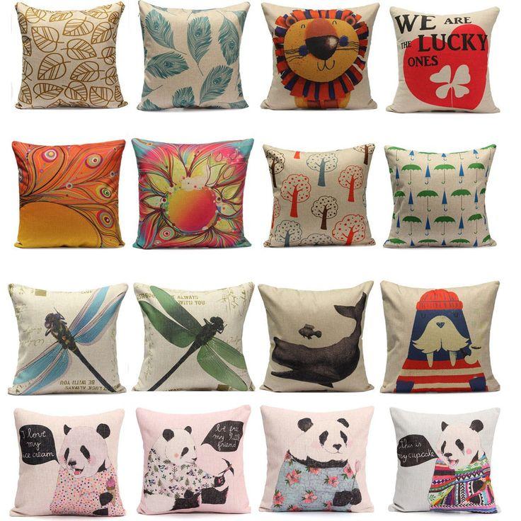 Federa Cuscino Fodere Cuscini Copricuscino Divano Decorazione Pillowcases   eBay