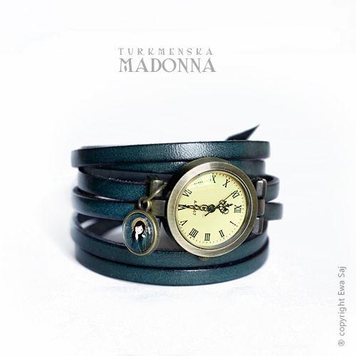 Madonna Turkmeńska - bransoletka zegarek w Ewa-Saj  na DaWanda.com
