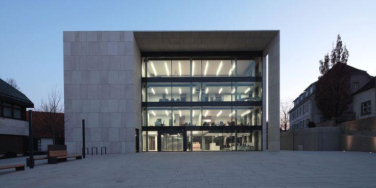 Rathaus Leingarten - pape + pape architekten Kassel