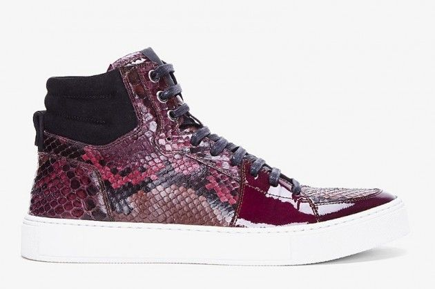 Yves Saint Laurent Raspberry Python Malibu SneakersShoes, But, Yves Saint Laurent, Laurent Raspberries, Ysl Raspberries, Yvessaintlaurent, Malibu Sneakers, Raspberries Python, Python Malibu