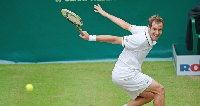 Gerry weber open images | Gerry Weber Open: Richard Gasquet serves up treat against Jurgen ...
